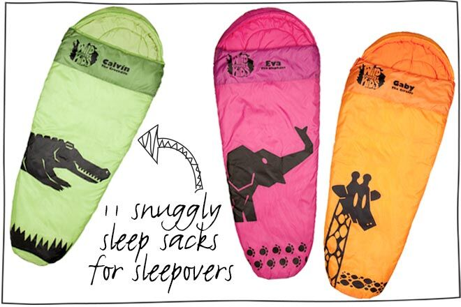 11 Snuggly Sleep Sacks for Sleepovers