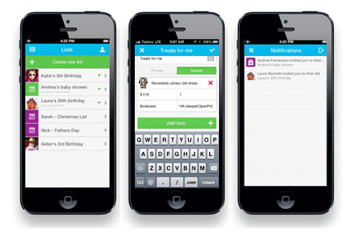 Iphone christmas gift app
