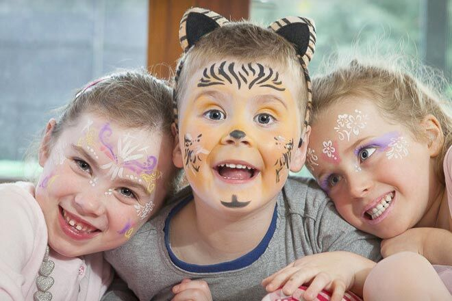 5 Simple And Cute Face Paint Ideas For Kids