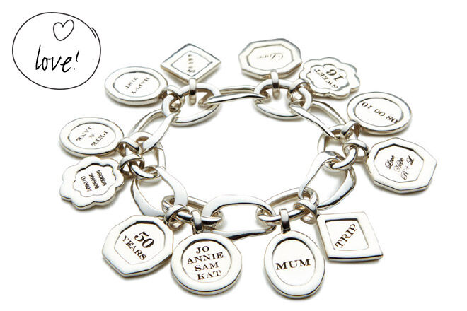 Uberkate Uber Memories Bracelet with charms