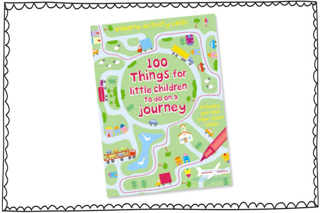 Travel games for kids: 100 Things to Do on a Journey
