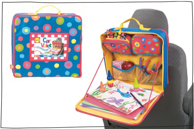 Travel games for kids: Car Valet