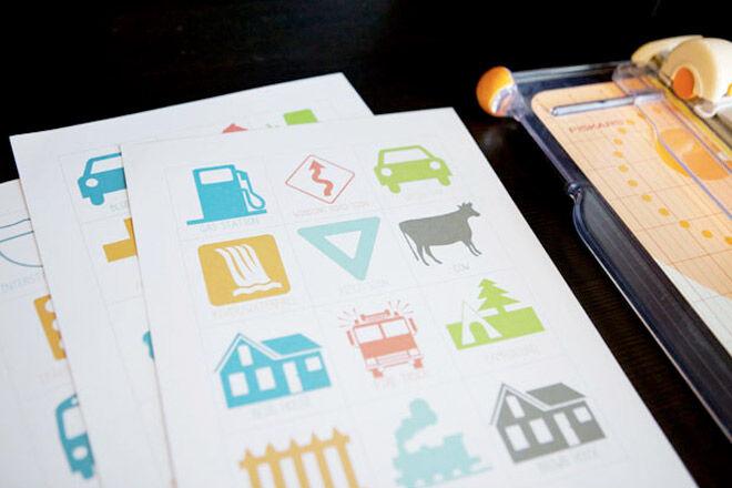Travel games for kids: Travel Bingo