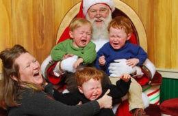 Awkward Santa Photos FI