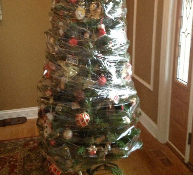Tips for toddler proofing christmas trees