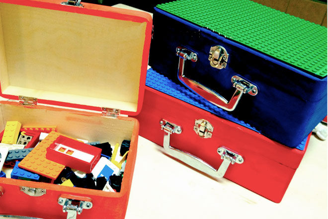 DIY Lego Boxes for travelling