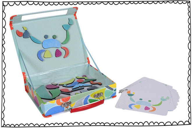 Travel games for kids: Tiger Tribe Magnetic Play Boxes