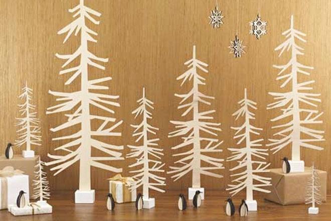 Nordic Wooden Christmas Tree