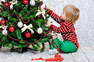 Toddler Proof Christmas Trees