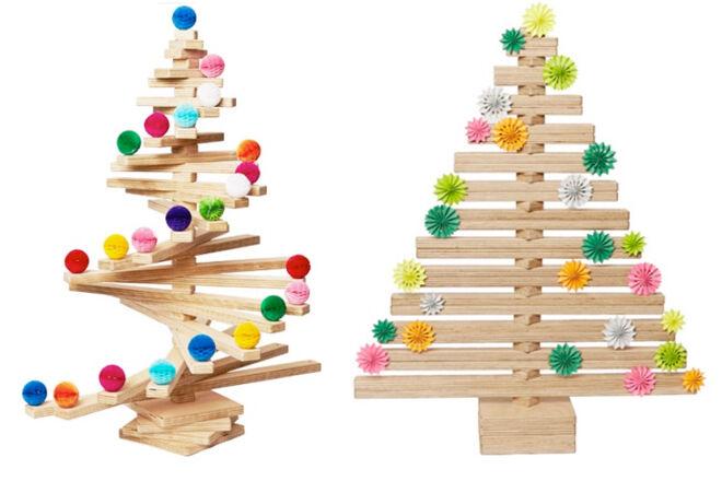 Wooden Spiral Tree