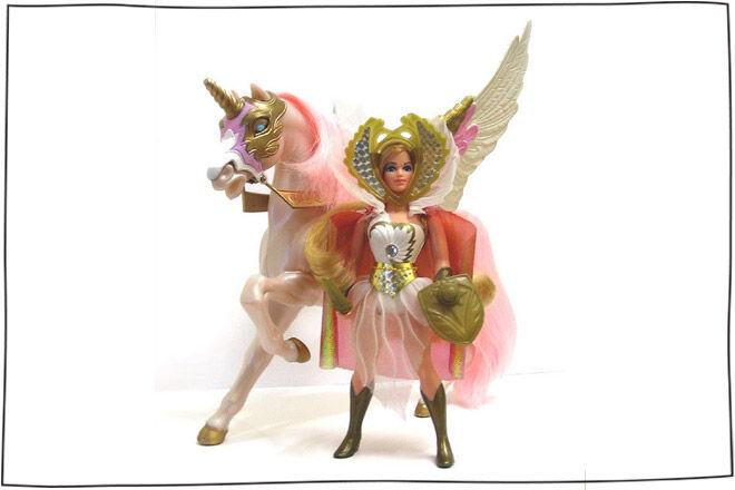 She-Ra Doll and Swift Wind Horse