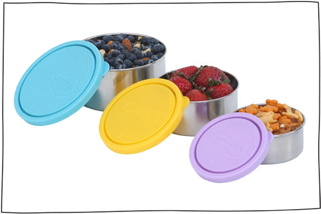 Kids Konserve Stainless Steel Snack Jars