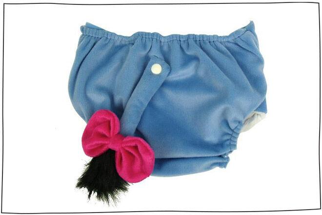 Eeyore nappy cover