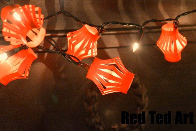 Red Lanterns craft