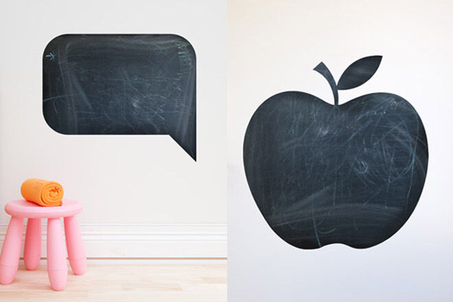 Chalkboard & Blackboard Wall Stickers