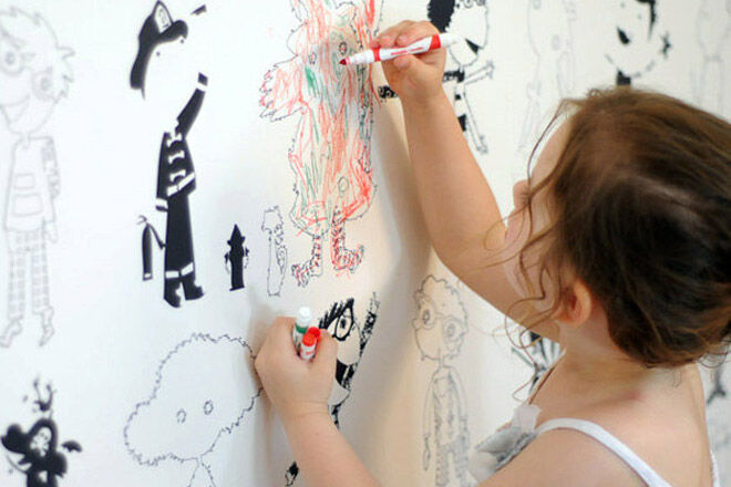 10 cool colour-in wallpaper for kids