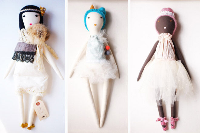 Rag Dolls by Gaiia Kim