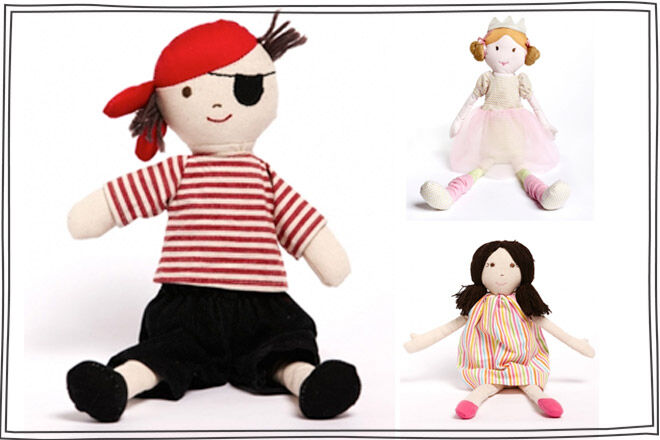 Rag Dolls Pirate Ballerina