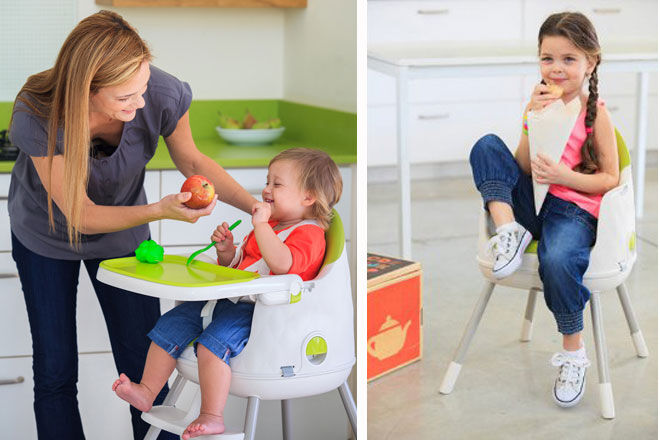 Convertible High Chair From Small To Big