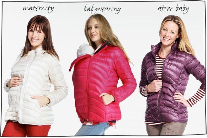 159912359b47 Mamaway maternity and babywearing winter jacket