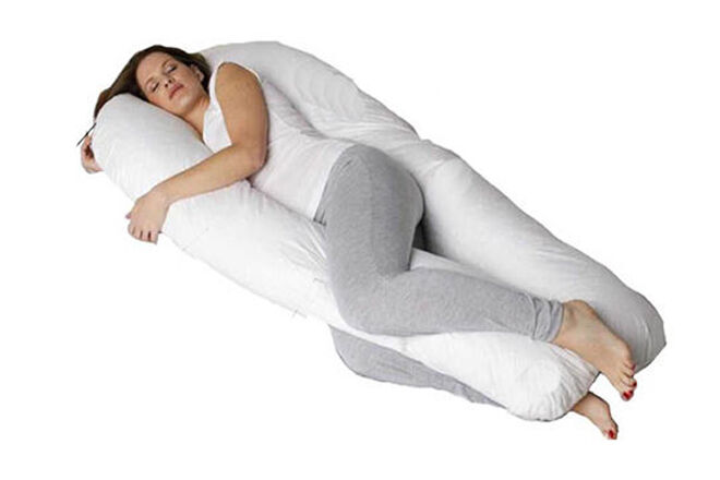 Body pillow with arms and legs