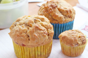 Carrot and Muesli Muffins