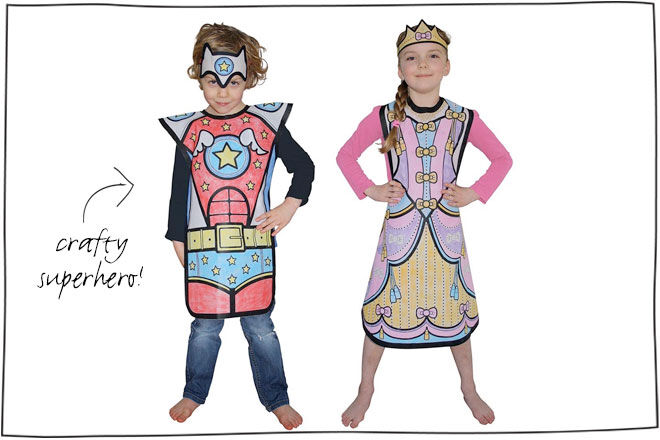 Colour Your Costume Kit