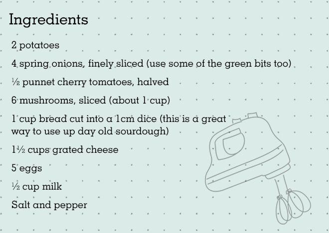 Frittata Recipe Ingredients