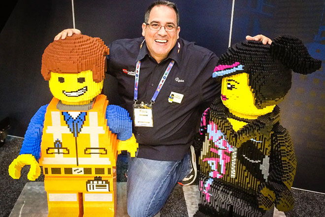 The Coolest Job In The World Professional Lego Builder