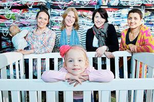 St Kilda Mums Cots for Tots Campaign