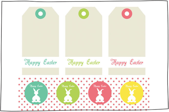 10 free easter printables for the kids i heart naptime easter tags negle Gallery