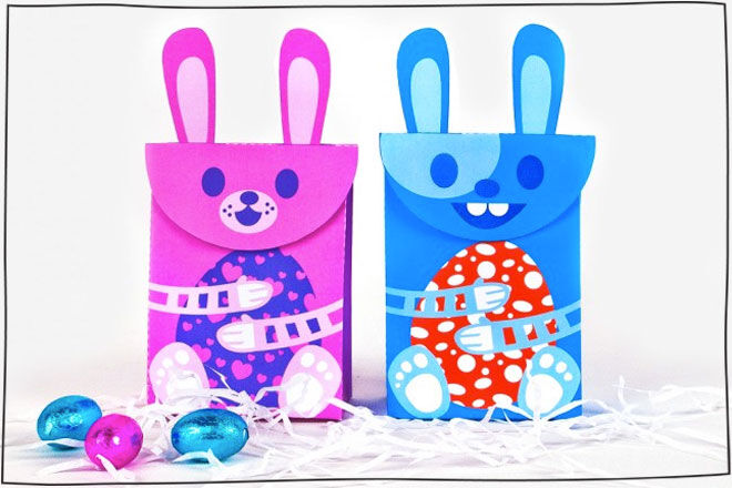 10 free easter printables for the kids stuck on you easter gift box negle Gallery