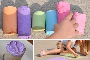 How to make giant chalk
