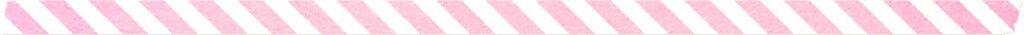 Washi Tape Pink Stripe