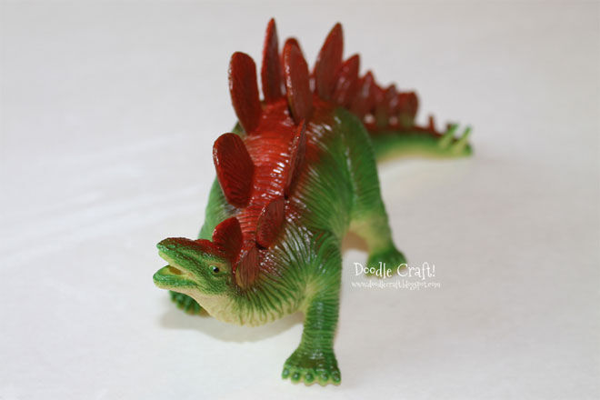 Dinosaur-Bookends-Before