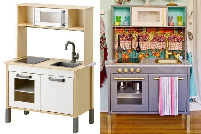 15 impressive diy toy makeovers mum 39 s grapevine - Ikea wooden kitchen playset ...