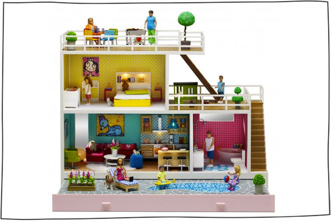 Lundby Doll's House Stockholm 2013