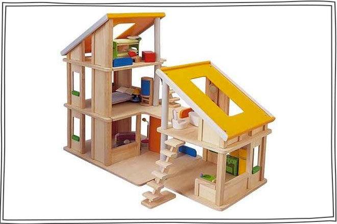 Plan-Toys-Chalet-Dollhouse