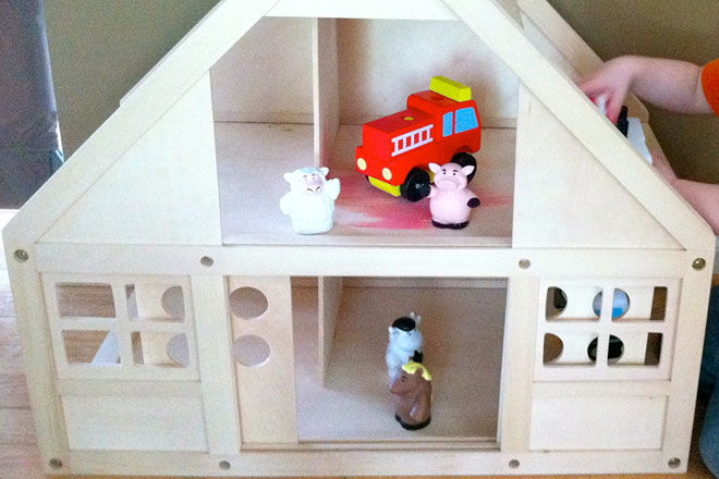 Toy barn makeover