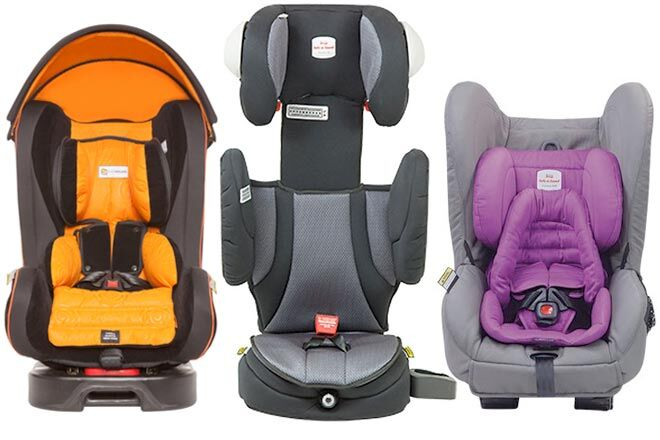 fit three car seats in the back
