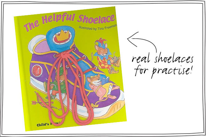 shoelace book