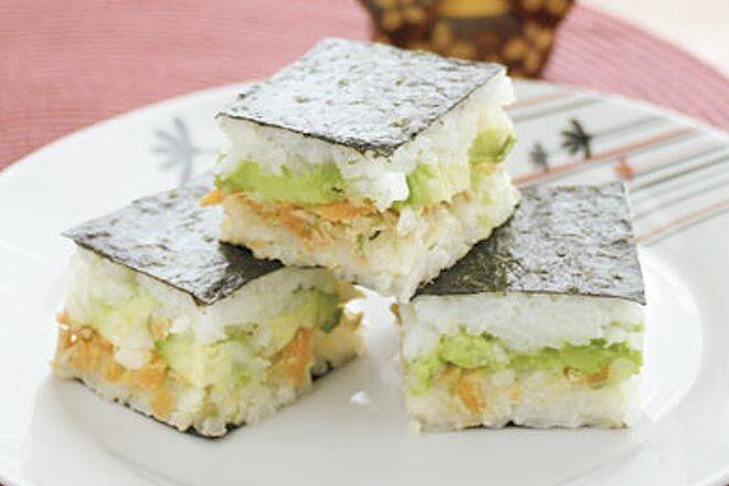 Recipe: Flat Packed Sushi