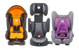 How to fit 3 car seats in the back