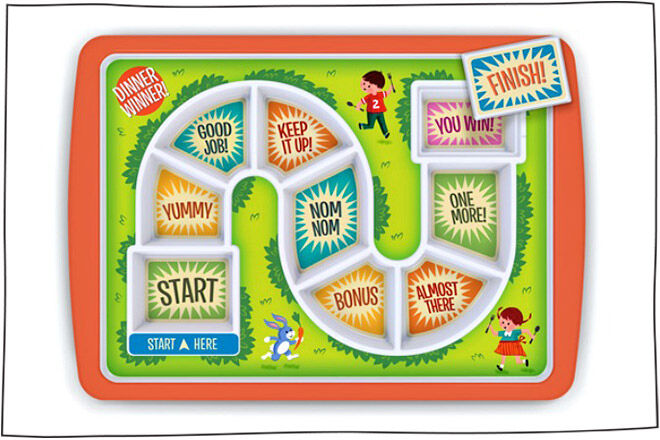 Board game plate