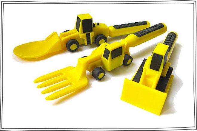 Construction Utensils Cutlery Set