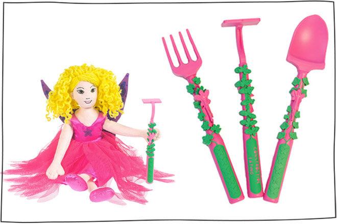 Fairy Garden Utensils Cutlery Set