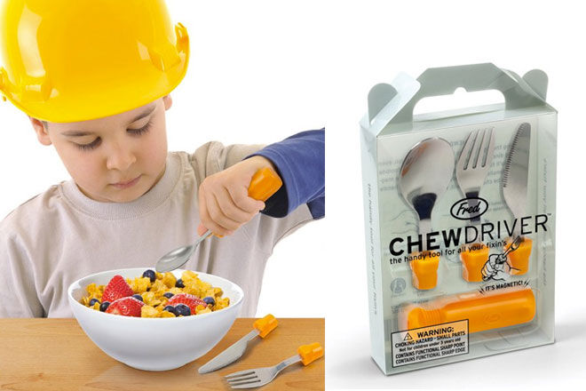 Fred Chewdriver Cutlery