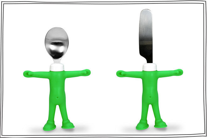 Head Chefs Childs Spoon and Knife