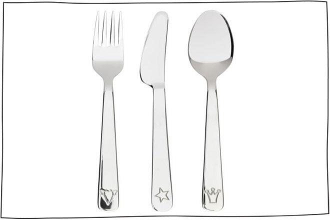 IKEA FABLER 3-piece cutlery set