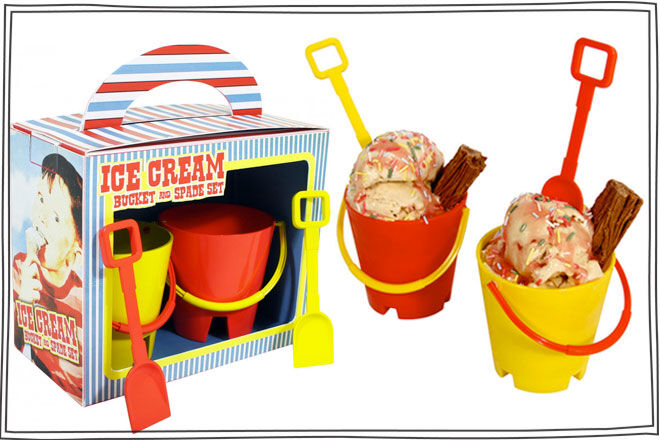 Ice Cream Bucket and Spade Set